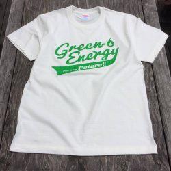 Green Energy オリジナル Tシャツ