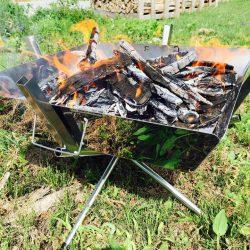 ビバ焚き火💛